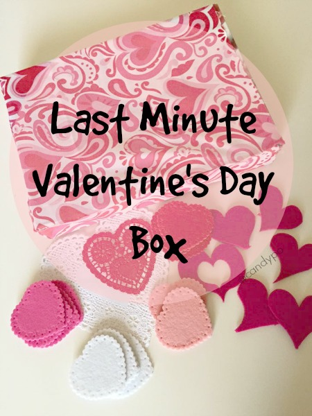 Last Minute Valentineu0027s Day Box Ideas