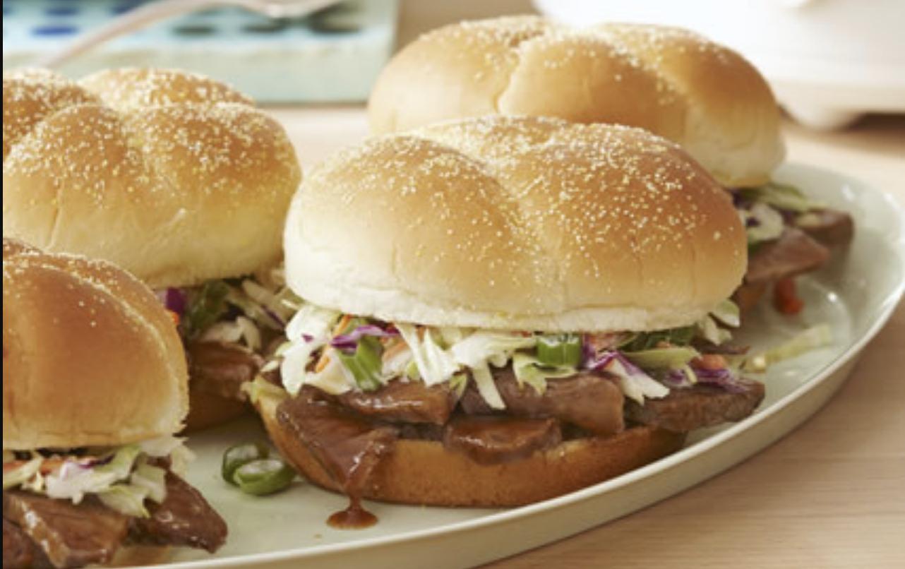 Texas Brisket Sandwiches
