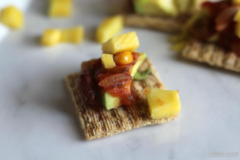 Avocado Mango & Salsa TRISCUIT Recipe
