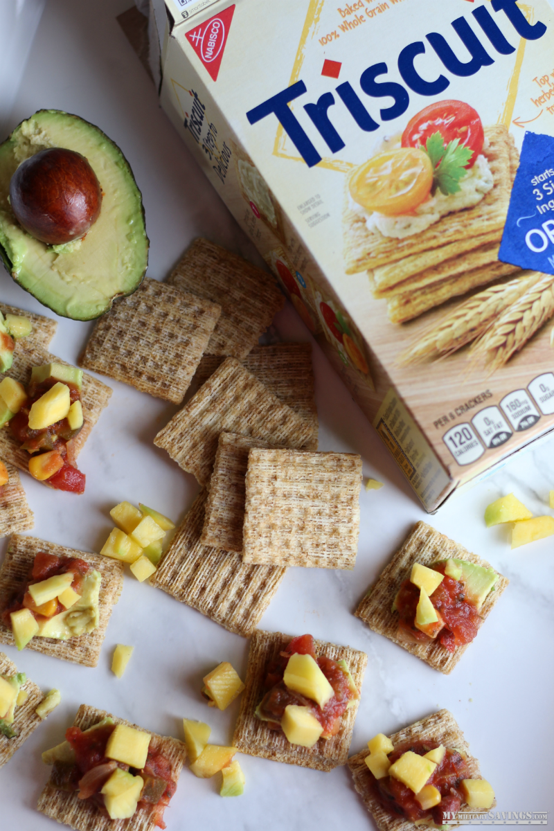 Triscuit Crackers Avocado Mango Salsa Recipe