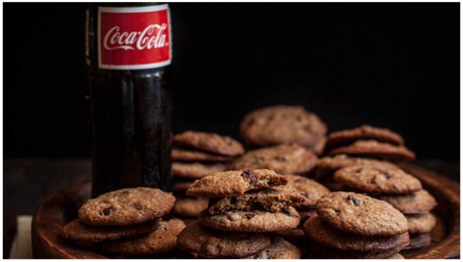 Coca-Cola Chocolate Chip Cookies