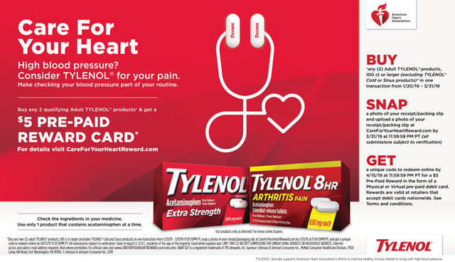 Tylenol Heart Health