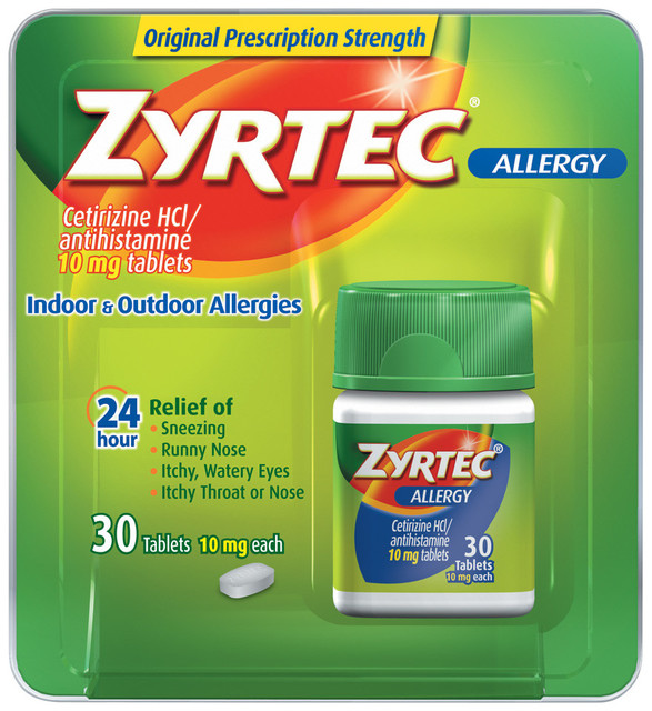 Zyrtec Allergy Medicine NEX