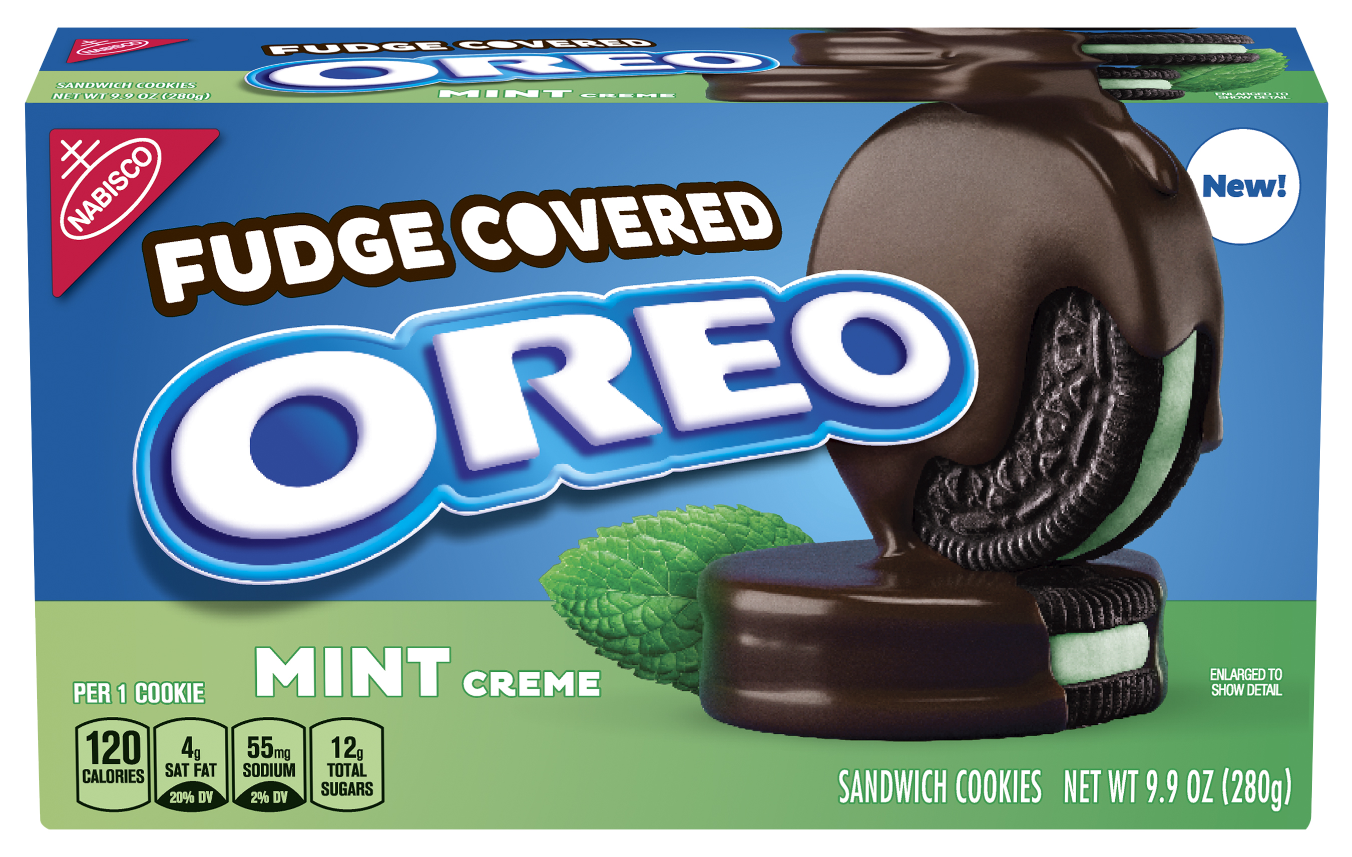 Fudge Covered Oreo Mint