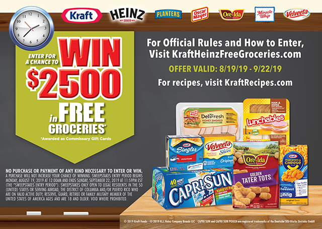 Enter to Win FREE Groceries With the Labor Day Grocery
