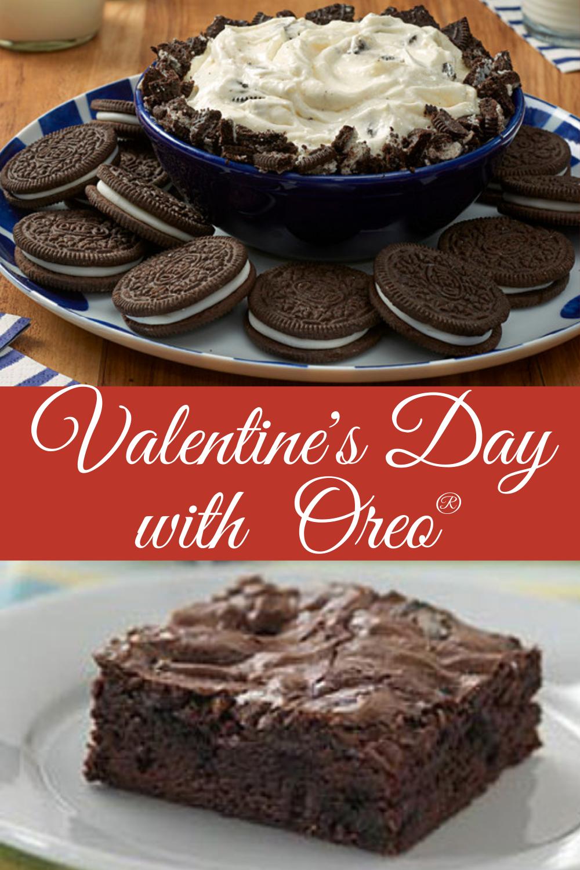 valentine's day with oreo